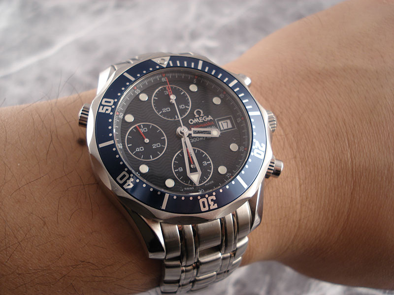 The Breitling Watch Blog 187 Omega Seamaster Chronograph
