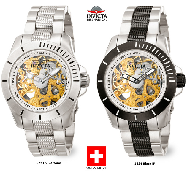 Swiss Mechanical Invictas