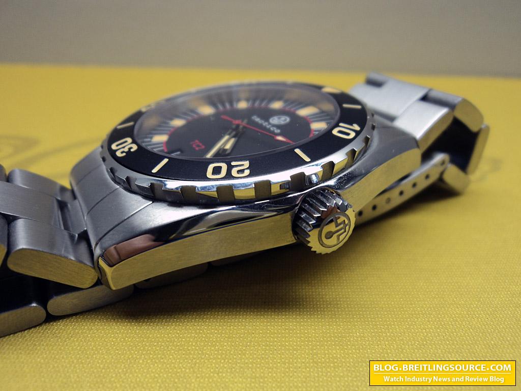 divers Vintage watch glycine