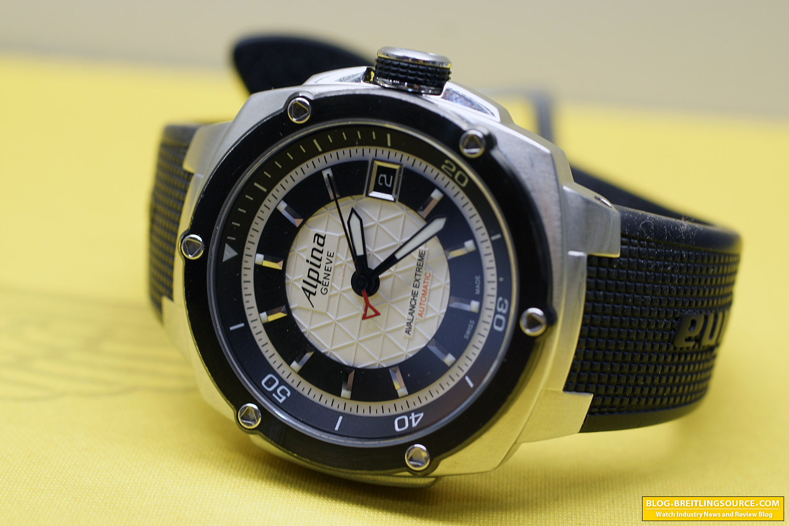 The Breitling Watch Blog Alpina Avalanche Extreme Automatic Swiss - Alpina watch review