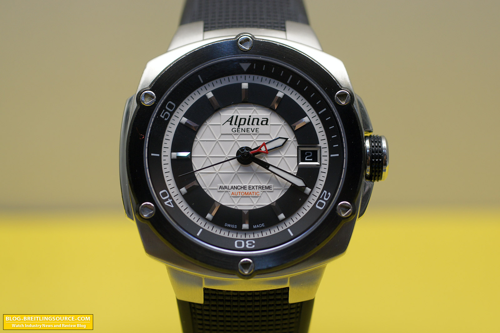 The Breitling Watch Blog Alpina Avalanche Extreme Automatic Swiss - Alpina geneve